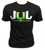 T-SHIRT  JUL 135  NOIR VERT SORT LE CROSS