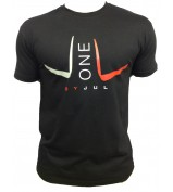 T-SHIRT LIGA ONE BY JUL HOMME NOIR ROUGE