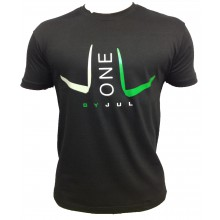 T-SHIRT LIGA ONE BY JUL HOMME NOIR VERT