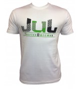 T-SHIRT  JUL 135 BLANC VERT  SORT LE CROSS