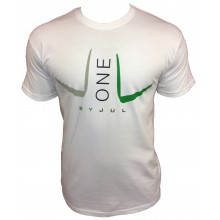 T-SHIRT LIGA ONE BY JUL HOMME BLANC VERT