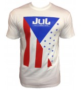 T-SHIRT LIGA ONE BY JUL HOMME CUBA BLANC