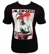 T-Shirt  ALONZO BELUCCI NEW NOIR ROUGE
