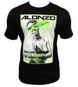 T-Shirt  ALONZO BELUCCI NEW NOIR VERT