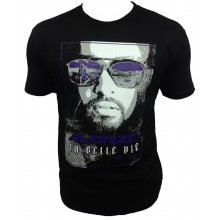 T-Shirt  ALONZO LA BELLE VIE NEW NOIR VIOLET