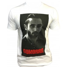 T-shirt Gomorra Italie Naple Blanc DON SALVATORE CONTE