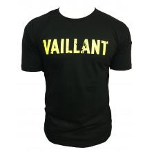 T-Shirt  ALONZO VAILLANT NOIR - VERT FLUO
