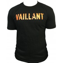 T-Shirt  ALONZO VAILLANT NOIR - ORANGE