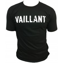 T-Shirt  ALONZO VAILLANT NOIR - ROUGE