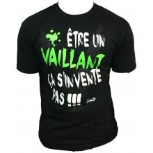 T-Shirt  ALONZO VAILLANT MODELE 2 NOIR - VERT