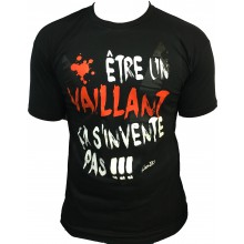 T-Shirt  ALONZO VAILLANT MODELE 2 NOIR - ROUGE
