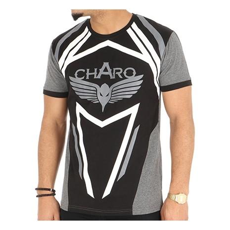 charo tee shirt nazka gris anthracite nizka belsunce shop