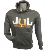 SWEAT JUL SORT LE CROSS VOLER NEW GRIS ANTHRACITE ORANGE