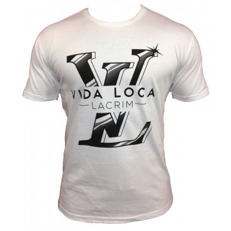 T-SHIRT LV VIDA LOCA BLANC LACRIM