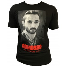 T-shirt Gomorra Italie Naple Noir DON SALVATORE CONTE
