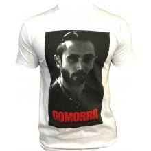 T-shirt Gomorra Italie Naple Blanc DON SALVATORE CONTE