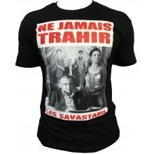 T-shirt Gomorra Italie Naple Noir NE JAMAIS TRAHIR
