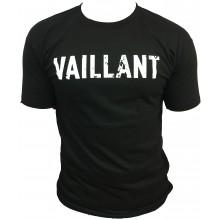 T-Shirt ALONZO VAILLANT NOIR - ROUGE