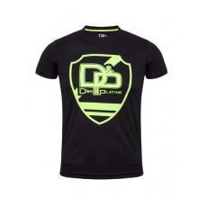 T-shirt DP - Logo jaune fluo