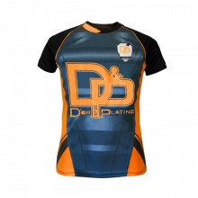 T-shirt jul maillot cross orange