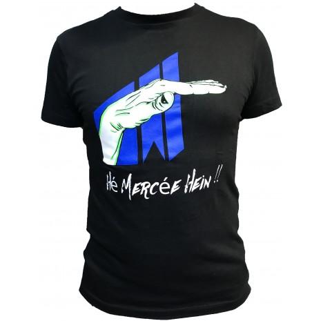 T-shirt Hé mercée hein !!! NOIR