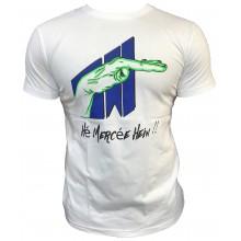 T-shirt Hé mercée hein - Oiseau Tyson - BLANC VERT