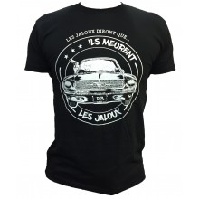 T-shirt les Jaloux RADOUDOUD13 noir