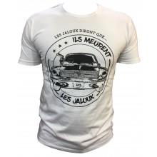 T-shirt les Jaloux RADOUDOU13 BLANC