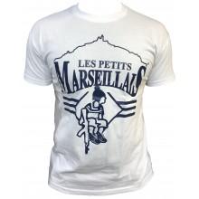 T-shirt les petits marseillais kalash BLANC