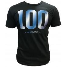 T-Shirt ALONZO 100% NOIR BLEU