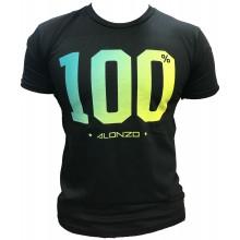 T-Shirt ALONZO 100% NOIR JAUNE VERT