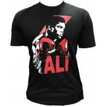 T-shirt Noir muhammed ali