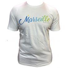 Tshirt MARSEILLE BLANC