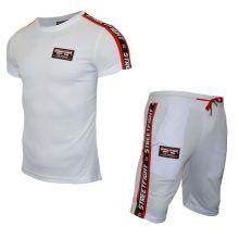 Ensemble t-shirt short StreetFight Blanc
