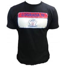 Tshirt LOGRADA Noir