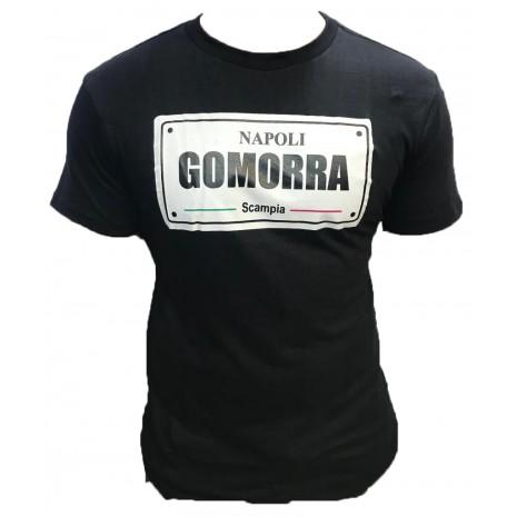 Napoli Gomorra Tshirt Logo Noir