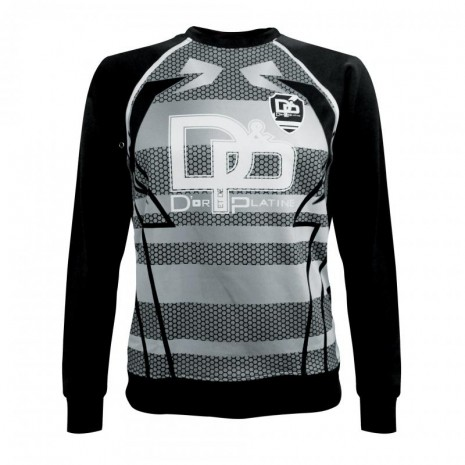D&P Football Club - Sweat Armor NOIR BLANC