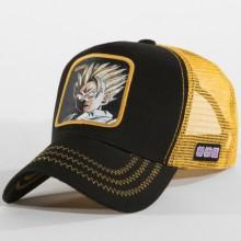 Dragon Ball Z - Casquette Trucker San Gohan Noir Jaune