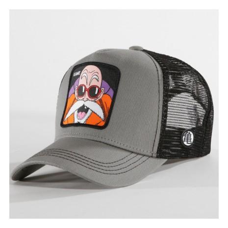 Dragon Ball Z - Casquette Trucker Kame Gris Noir