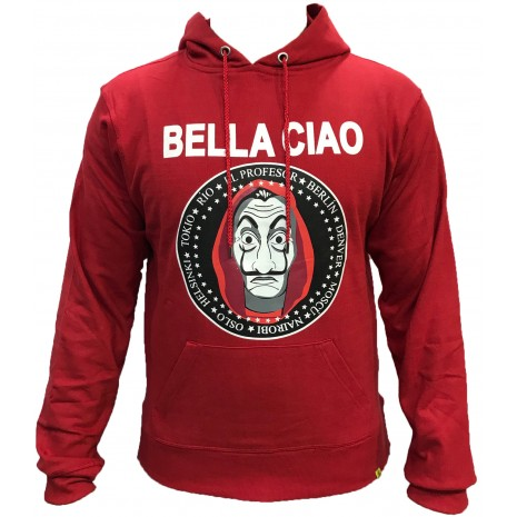 Pull bella ciao Rouge