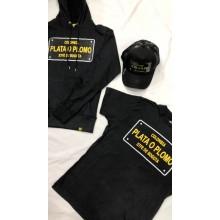 Pack Plata o plomo noir ( t-shirt, pull et casquette)