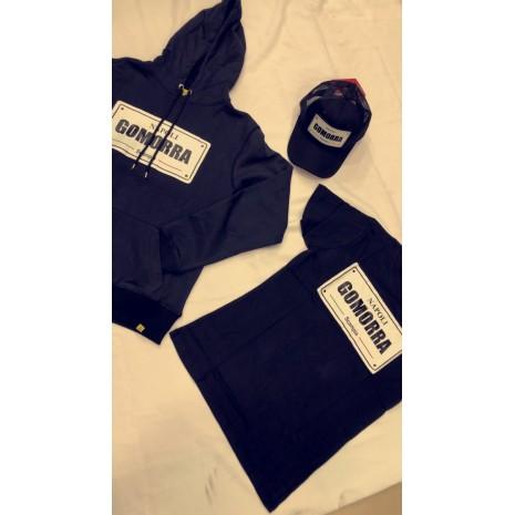 Pack gomorra noir ( t-shirt, pull et casquette)