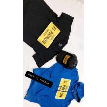 Pack el patron noir et bleu ( t-shirt, pull et casquette)