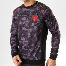 Charo - Sweat Crewneck On The Pitch WY4258 Camouflage Noir