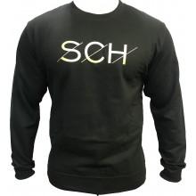 Pull SCH noir SCH logo