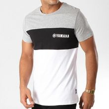 Tshirt 2019 Yamaha Tricolore Gris