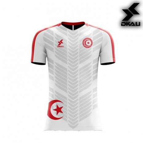 Dkali T-shirt 2019 Tunisie white
