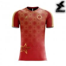 Dkali T-shirt 2019 Maroc Rouge