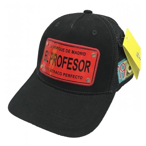Lograda - elprofessor noir - casquette