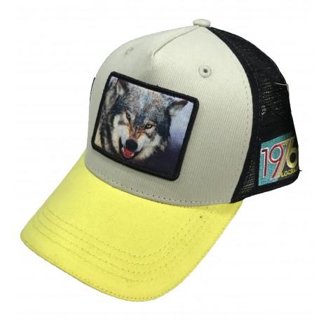 Lograda - loup jaune - casquette